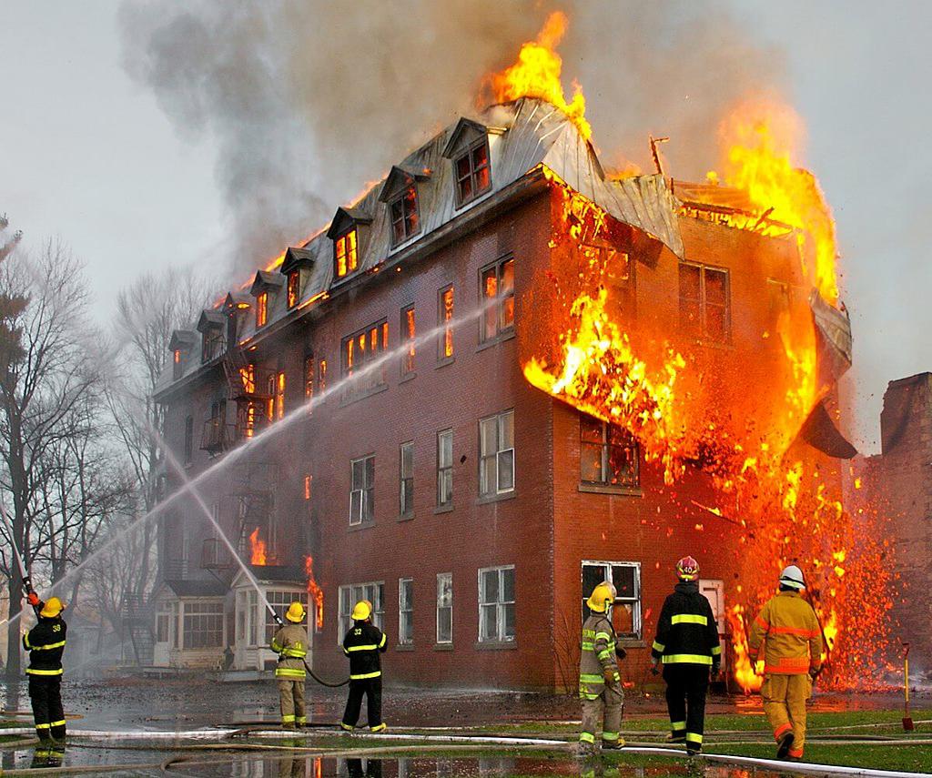 Zaštita od požara na zgradi