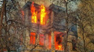 požar i zgrada