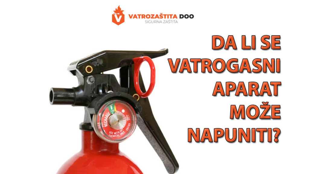 Da lise vatrogasni aparat može napuniti?