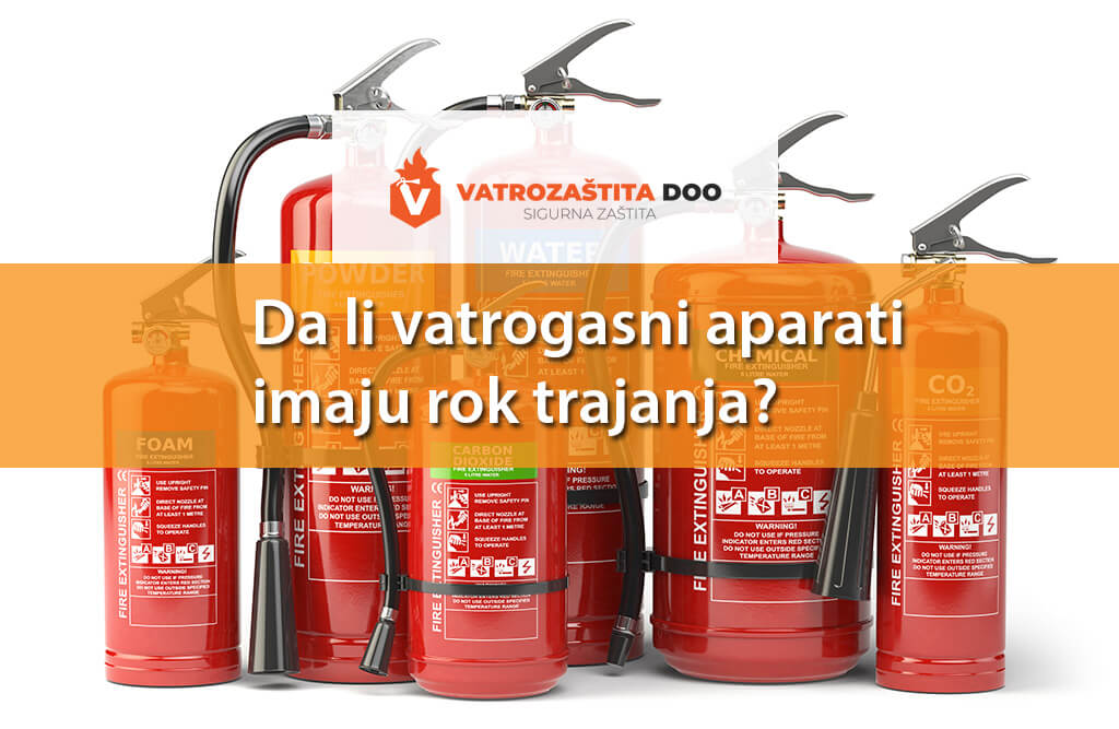 Da li vatrogasni aparati imaju rok trajanja?