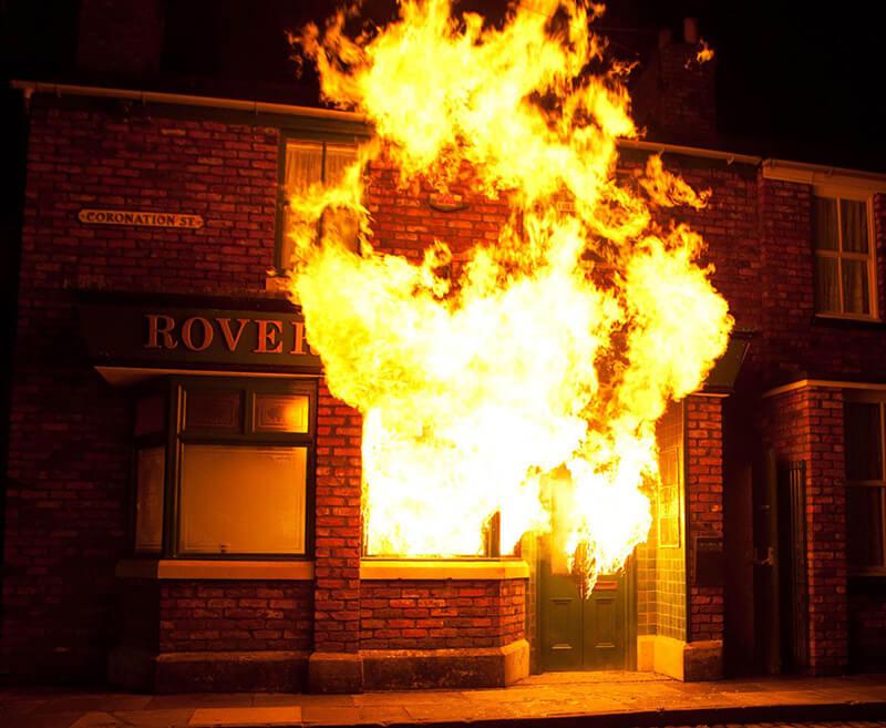 Opasnost od igranja vatrom u objektima