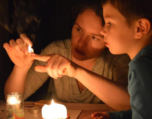 Opasnost od igranja sa vatrom djeca