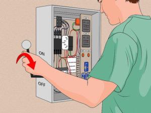 Ugasiti dotok električne energije