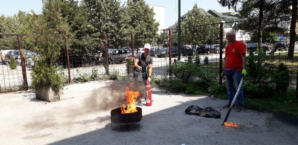 Obuka zaštita od požara
