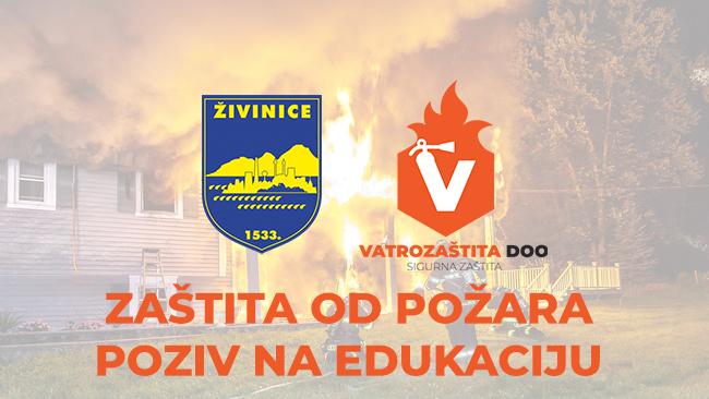 Edukacija - Zaštita od požara - Poziv na edukaciju