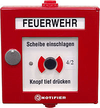 Uređaj za pokretanje alarma