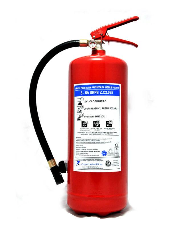 Aparat za gašenje požara S-6A