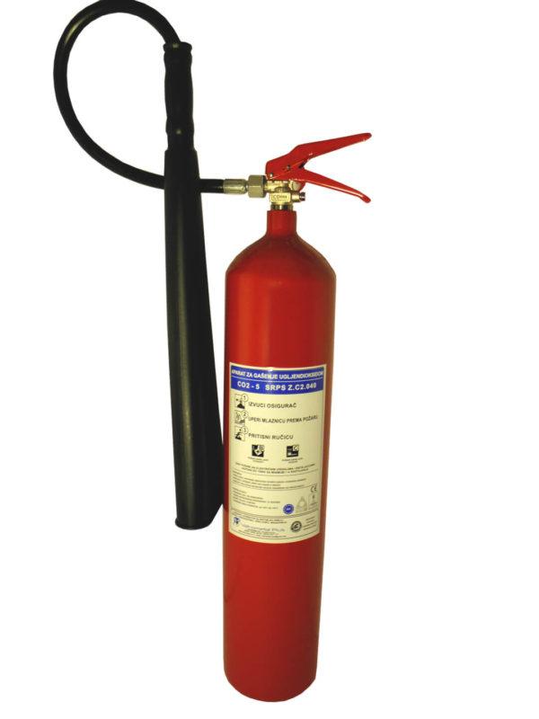 Aparat za gašenje požara Co2 5kg