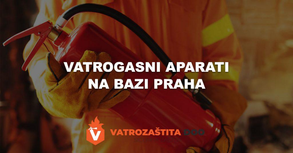vatrogasni aparati na bazi praha